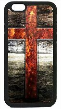 For Apple iPhone 4 4s 5 5s 5c 6 6 Plus Cross Christian Jesus Christ Case Cover