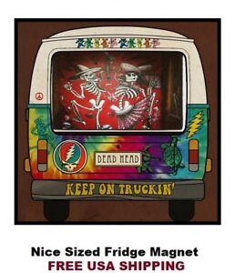 540 - Grateful Dead VW Bus Nice Refrigerator Magnet