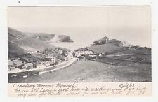 West Lulworth,U.K.View of Lulworth Cove & Village,Dorset,Used,Weymo uth,1907