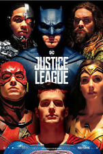 JUSTICE LEAGUE 27x40 DS LIGHT BOX Poster banner Batman Superman Wonder Woman