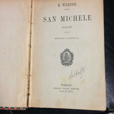 1911 E. WERNER - SAN MICHELE - EDIZIONE ILLUSTRATA SALANI