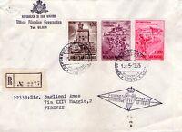 REPUBBLICA DI SAN MARINO - INTERESSANTE RACCOMANDATA PER FIRENZE - 1965