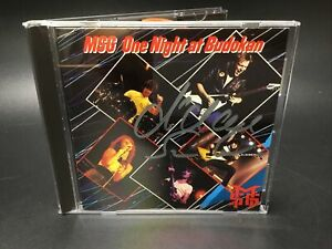 SIGNED CD MSG - One Night at Budokan [Chrysalis] 1981 Michael Schenker Group UFO