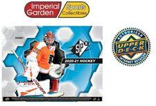 2020-21 Ud Spx хоккейные хобби заводской запечатанной коробке * Канада корабль только *