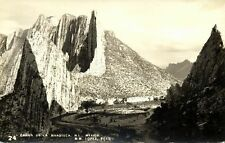 mexico, Canon de la Huesteca, N.L., Partial View (1940s) RPPC