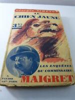 le chien jaune , georges simenon ,commissaire maigret (car04)-