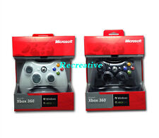 Wired Controller For Microsoft Xbox 360 PC Windows, Black Or White