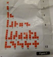 Blokus Replacement Parts Pieces - U Pick 1 pc from list yellow red green blue