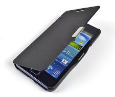 Schutzhülle f Samsung Galaxy S2 / S2+ Leder-Imitat Tasche Case Cover Flip