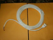 White 20' Fitall  Two-Wire Vacuum Power Cord Brand New.