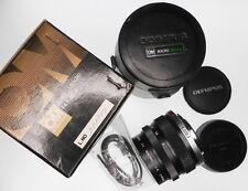 Olympus OM 80mm f4 Macro Lens   #201801 .............. MINT w/Box