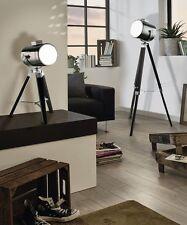 Lámpara de pie h150cm en cromo e27 Stand Vintage Interior