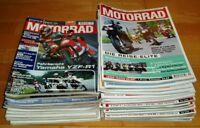 26x Motorrad 2000 Jahrgang komplett Zeitschriften Hefte Sammlung motorcycle 1-26
