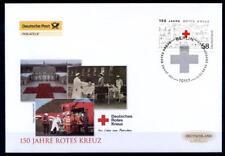 150 Jahre Intern. Rotes Kreuz. FDC. Berlin. BRD 2013