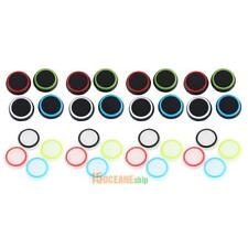 32pcs/lot Silicone Colorful Cap Thumb Stick Joystick Grip Set For Sony PS4 PS3