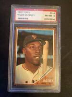 1962 Topps Willie McCovey #544 PSA 8 NM-MT