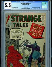 Strange Tales #111 CGC 5.5 1963 Silver Age Marvel  2nd Dr Strange Amricons K19