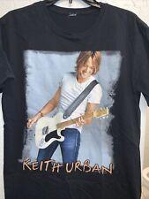Keith Urban Black T-Shirt 2011 Get Closer World Tour Size Medium