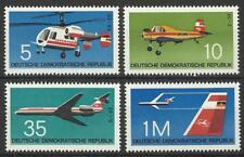 EAST GERMANY1972 AIRCRAFT SET MINT