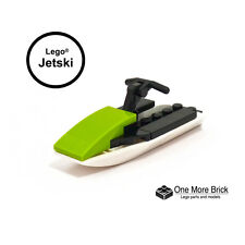 Lego Jetski - in lime green and yellow