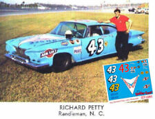CD_2283 #43 Richard Petty 61 Plymouth Fury  1:24 decals