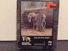 VERLINDEN Productions Arab Boy with Donkey 1:35 Scale Item #955