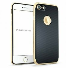 COQUE ETUI PROTECTION ★★ HYBRID CARBON ★★ IPHONE 5 5S 5SE ★ GOLD