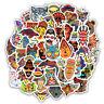 50 PCS Totem Sticker Animal Graffiti Stickers to DIY Laptop Skateboard Luggage