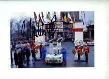 Ari Vatanen Peugeot 205 T16 Winner RAC Rally 1984 Signed Photograph 3