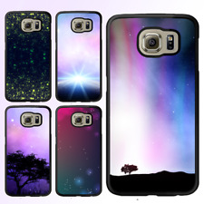 Galaxy S8 S8 Plus S7 S6 S5 Note 8 Edge Case Space Bumper Print Cover For Samsung