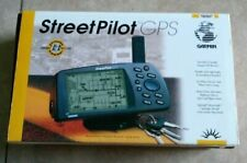 Vintage 1998 StreetPilot GPS Garmin Battery Operated w/ Owner's Manual Bundle