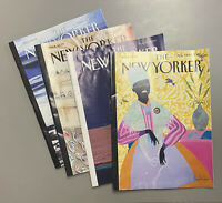 The New Yorker Magazine August 2020 Lot of 4 (Aug 3 & 10, 17, 24, 31), Read Once