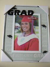 Hallmark GRAD 4 X 6 FRAME Clear Glass Frame Graduation School High School