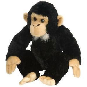 "Wild Republic Cuddlekins Chimpanzee Baby 12"" Soft Plush Toy"