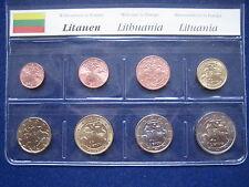 MDS LITAUEN EURO-KMS 2015, 1 CENT - 2 EURO, LOSE UND UNZIRKULIERT