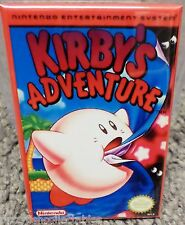 "Kirby's Adventure Nintendo NES Game Box 2""x3"" Fridge Locker MAGNET"