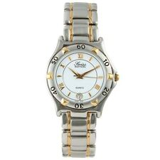 Swiss Edition Men's Two-Tone Sport Watch w metal bracelet.