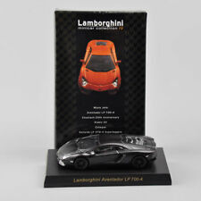 Kyosho 1:64 Car Model Black Lamborghini Sesto Elemento Diecast Car Collectible