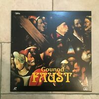 Gounod _ Faust  _ 2 X LaserDisc _ 1995 Dream Life JAPAN _ near mint _ RARE!!