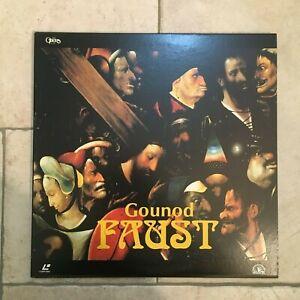 Gounod _ Faust  _ 2 X LaserDisc _ 1995 Dream Life JAPAN _ near mint _ RARE!!