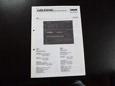 Original Service Manual Grundig CCd 650
