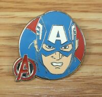 Genuine Disney Marvel Avengers - Captain America Collectible Booster Pin