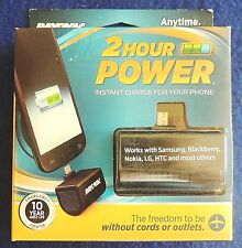 Rayovac 2-Hour Emergency Power Mobile Phone Charge CR123A Battery Included New
