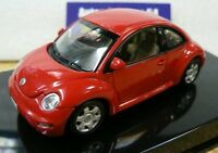 Autoart 59734 VW Beetle RSI Red 1/43 Scale Diecast Model Car
