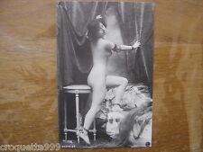 carte postale Postcard NATURISME FKK AKT nu nude REPRODUCTION poses fatales 2