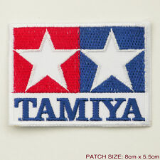 TAMIYA Toys Corporation - Company Logo Embroidered Iron-On Patch - NEW