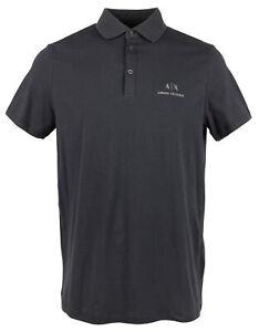 Armani Exchange Men's Signature Polo Shirt-N-XXL
