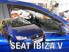 Deflectores de aire Derivabrisas cortavientos SEAT IBIZA 6F delanteros 2017-
