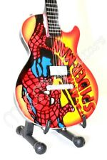 Miniature Guitar SPIDERMAN with free stand
