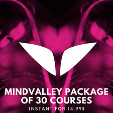 Mindvalley Package Of 30 Courses |🎈 Value $999+